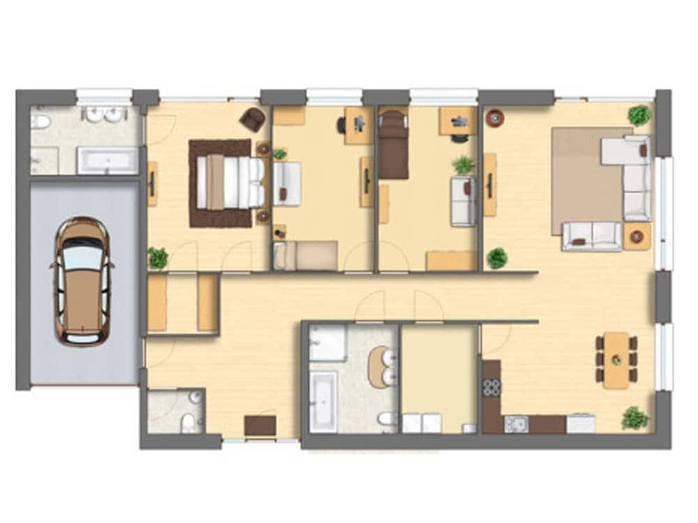 Photoshop  floor plan   Microdra Design Solutions